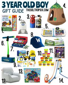 christmas gift guides for the whole family Christmas Gifts For Three Year Olds, Toddler Christmas Gifts, Toddler Boy Gifts, Kids Christmas, Nephew Birthday Gifts, 3 Year Old Birthday Gift, Nephew Gifts, 3 Year Old Toys, 10 Year Old Boy