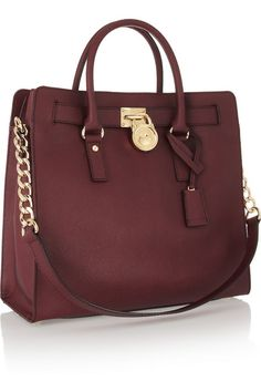 MICHAEL Michael Kors | Hamilton large textured-leather tote | NET-A-PORTER.COM http://2015yeargoodbag.ibtventures.com.my/