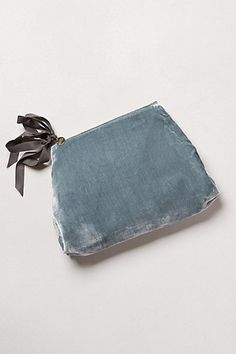 Demoiselle Velvet Pouch #anthropologie  No longer available, will have to make my own.