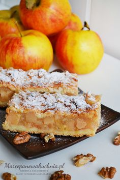 No Bake Pies, No Bake Cake, Cake Recipes, Dessert Recipes, Fruit Tart, Apple Desserts, Polish Recipes, Dessert Bars, Baked Goods