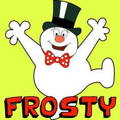 Step frosty snowman 400x400 How to Draw Frosty the Snowman Step by Step Drawing Tutorial for Christmas
