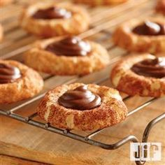 Chocolate Hazelnut Snickerdoodle Cookies from Jif®