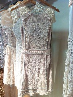 Gorgeous beaded dresses! I think these types of dresses are simply stunning! | Dress inspiration for women.