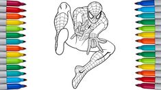 SPIDERMAN Coloring Pages for Kids Paw Patrol Coloring Pages, Bunny Coloring Pages, Coloring Pages For Kids, Color Bug, Spiderman Coloring, Daffy Duck, Tom And Jerry, Make It Yourself, Coloring Pages For Boys
