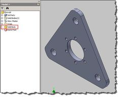Changing a Pattern in an Inventor Solid