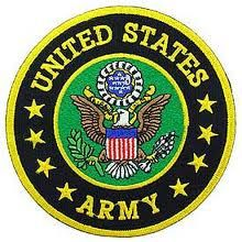 United States Army. Thank you to all who give their all every day of their lives and to those who so proudly served.