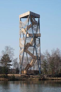 Gallery - Viewing Tower Lommel / Ateliereen Architecten - 5