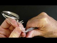 Wire Name Pendant Tutorial. Great video demonstrations. (Plus they're making my name!)