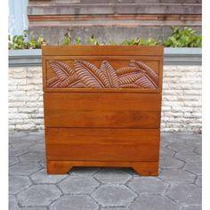 Palm Leaf Nightstand At Elementfinefurniture.com Hand Made Solid Wood Furniture