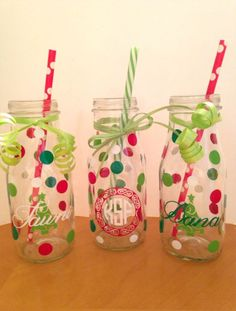 Some glass drink bottles come in cool shapes, so it's always sort of a shame when you get ready to recycle them.