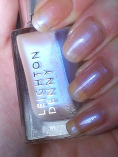 Leighton Denny: Butterfly Wings One of my first ever Leighton Denny Nail Colours and a great colour for colour cocktailing too :D