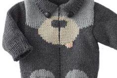 Jungen Pullover Modelle - Knitting For Kids Baby Knitting Patterns, Baby Boy Knitting, Knitting For Kids, Crochet For Kids, Baby Patterns, Crochet Baby, Hand Knitting, Knit Crochet, Baby Sweater Patterns