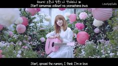 Juniel - I Think I'm In Love (연애하나 봐) MV [English subs + Romanization + ...