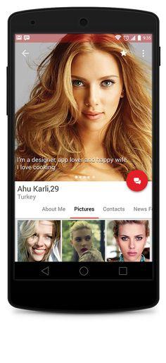 Material Design Profile Android L