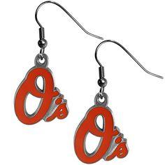 886ea8efc394f7 MLB Baltimore Orioles Dangle Earrings Siskiyou Sports http   www.amazon.com