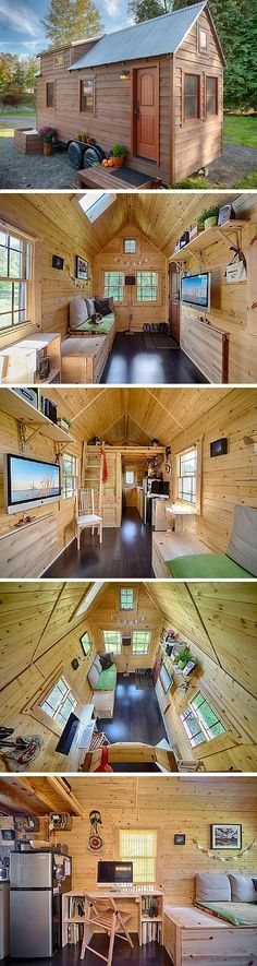 The Tack House: a 140 sq ft tiny house in Everett, WA