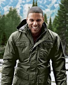 Men's Rainfoil® Fleece-Lined Parka | The antidote for cold, wet weather. Waterproof, windproof and breathable, with fleece lining to cut the winter chill.