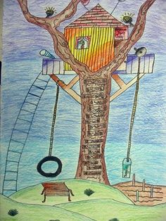 Design your own tree house (show tree house calendar pics)