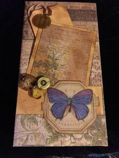 Photo Album Mini Waterfall Folio Scrapbook by Latestfixation