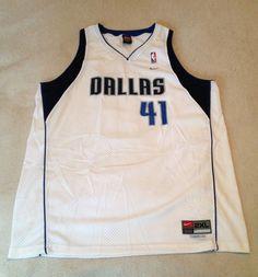 63e62100f80a Nike Vintage Dirk Nowitzki Dallas Mavericks Swingman Jersey Size XXL 54  NWOT NBA