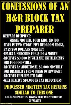 Processed nineteen tax returns similar to this one Liberal Hypocrisy, Liberal Logic, Socialism, Truth Hurts, It Hurts, Nasty People, Conservative Politics, Thats The Way, Common Sense