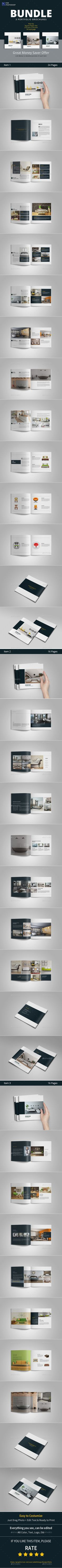 Portfolio Brochure BUNDLE - Templates PSD