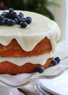 Blueberry Citrus Cake  Recipe from the new 'Better Homes & Gardens - Cook Book'  {my BH is nearly 30 years old, and it's still my 'go-to' book}