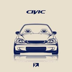 Flickr Civic Car, Honda Civic Vtec, Honda Civic Coupe, Honda Accord, Car Animation, Japanese Domestic Market, Honda Cars, Car Memes, Japanese Cars