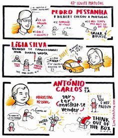 IGNITE Portugal #47 - Pedro Pessanha; Lígia Silva; António Carlos