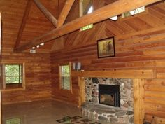 $425,000 2.9 acre executive log home North of Elkhorn in LaGrange Township.  Listed by Andy Szymanskyj, this 3 bdrm home has 2 master suites and high end finishes!