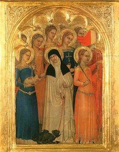 Giovanni da Milano: Choir of Virgins c. 1365