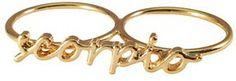 Scorpio Knuckle Ring #Zodiac