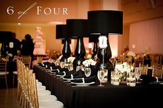 These lamps look so chic and would be a great decor element in the Vanity Fair Theme.