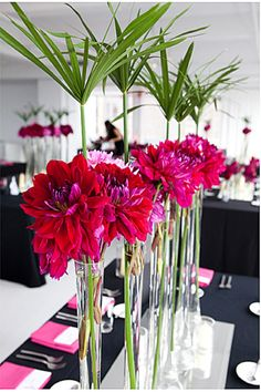 Deco by jellykelly Red Party Decorations, Centerpiece Decorations, Floral Centerpieces, Table Centerpieces, Wedding Centerpieces, Floral Arrangements, Centrepieces, Floral Wedding, Wedding Flowers