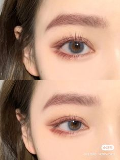 Makeup Korean Style, Korean Natural Makeup, Korean Eye Makeup, Korea Makeup, Makeup For Asian Eyes, Asian Makeup Looks, Cute Makeup, Pretty Makeup, Hair Makeup