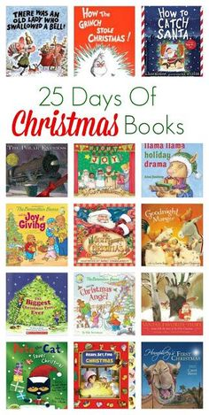 25 Days of Christmas Books || The Chirping Moms #christmasbooks #holidaybooks #christmasbooksforkids