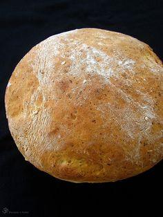 Zemiakovy chlieb Russian Recipes, Bread Baking, Bakery, Cooking Recipes, Indie, Polish, Dish, Food, Baking