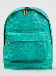 Mi-Pac Teal Snakes Backpack*