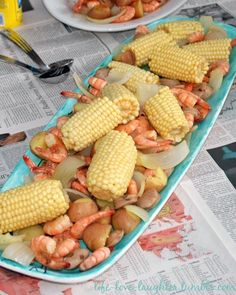 Good ole country low boil....definitely a summertime favorite in the south!!