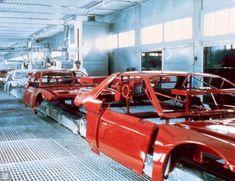 1984 Pontiac Fiero Assembly Line, Detroit, Michigan Pontiac Fiero, Pontiac Cars, Paint Booth, Assembly Line, Plant Painting, Paint Shop, Vintage Cars, Car Stuff, Car Dealerships