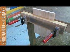 Como hacer un tornillo de banco de carpintero - YouTube