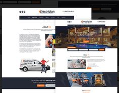 "Check out new work on my @Behance portfolio: ""Electrician - Electricity Services WordPress Theme"" http://be.net/gallery/51108927/Electrician-Electricity-Services-WordPress-Theme"