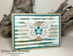 Lovely-Stamping, Stampin'Up! producten bestel je hier: Stampin'Up! YouTube Brushstrokes deel 1