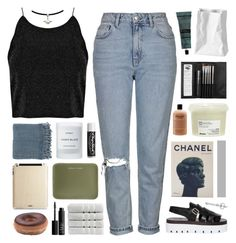"""""""kill em with kindness / TAG YOUR TAGLISTS!"""" by omgjailah ❤ liked on Polyvore featuring Topshop, MM6 Maison Margiela, Rosenthal, Aesop, Surya, Byredo, Sephora Collection, Chapstick, Under Cover and philosophy"""