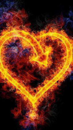heart_fire_flame_shape_arrow