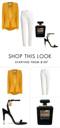 """Easy"" by shanelle-ashford on Polyvore featuring Hebe Studio, Basler, Tom Ford and Chanel"