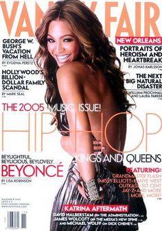Beyoncé Knowles - Vanity Fair Magazine [United States] (November 2005)