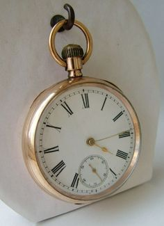 Antique Labrador Omega pocket watch