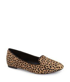 jaimin cheetah dot loafer