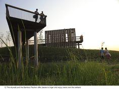 Qunli Stormwater Wetland Park Stores Rainwater While Protecting the Environment from Urban Development Landscape Architecture, Landscape Design, Urban Landscape, Parque Linear, Gros Morne, Plan Maestro, Wetland Park, Reserva Natural, Water Management